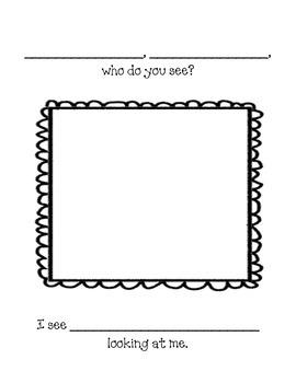Brown Bear, Brown Bear Class Book Template