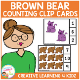 Animal Counting Clip Cards