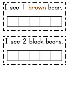 Brown Bear Brown Bear Counting to 10