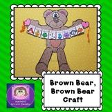 Brown Bear Brown Bear, Craft