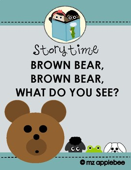 Brown Bear, Brown Bear Craftivity