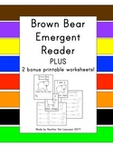 Brown Bear Brown Bear Emergent Reader