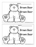 Brown Bear Brown Bear Emergent Reader/Writer Unit