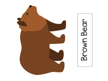 Brown Bear, Brown Bear Flannel board Set