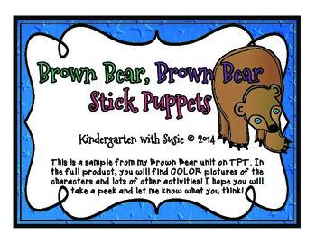 Brown Bear, Brown Bear, Freebie