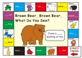 Eric Carle Brown Bear What Do You See?-Game Board