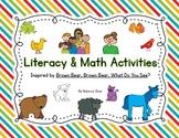 Brown Bear, Brown Bear {Literacy & Math Activities}