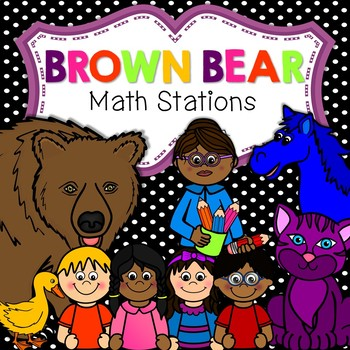 Brown Bear, Brown Bear Math Stations