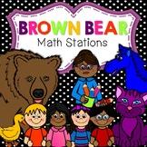 Brown Bear, Brown Bear Math Stations