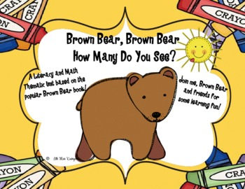Brown Bear, Brown Bear Math and Literacy Unit
