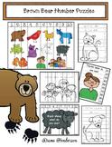 Brown Bear Brown Bear Number Puzzles