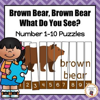 Brown Bear Brown Bear Puzzles