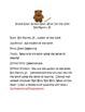 Brown Bear Brown Bear RAFTS prompt