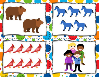 Brown Bear and friends: Read, Write and Count the Room (Literacy and Math)