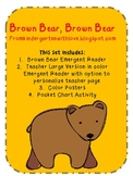 Brown Bear Brown Bear Reading Unit