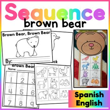Brown Bear Brown Bear Retell Puppet/ Oso Pardo Oso Pardo