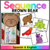 Brown Bear Brown Bear Retell Puppet/ Oso Pardo Oso Pardo