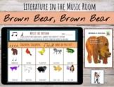Distance Learning   Brown Bear, Brown Bear Rhythm Chant by Eric Carle