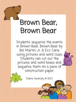 Brown Bear, Brown Bear: Sequencing