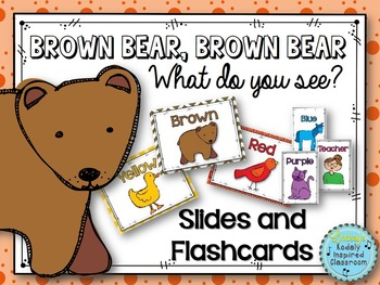Brown Bear Music Lesson - manipulatives/flashcards