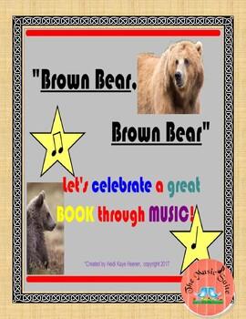 Brown Bear, Brown Bear!  Smart Board MUSICAL Fun!!