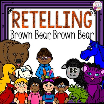 Brown Bear, Brown Bear, What Do You See? Stick Puppets