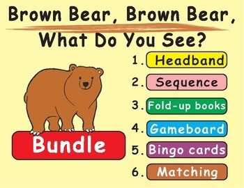 image about Brown Bear Brown Bear What Do You See Printable Book named Brown Endure, Brown Undertake, What Do Oneself View? as a result of Eric Carle Functions Deal
