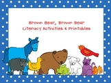 Brown Bear, Brown Bear, What Do You See? Activities & Printables