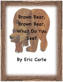 Brown Bear, Brown Bear, What Do You See? Interactive Adapted Book