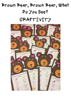 Brown Bear, Brown Bear, What Do You See? CRAFTIVITY