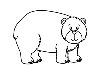 Brown Bear, Brown Bear, What Do You See? Coloring Book