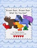 Brown Bear, Brown Bear, What Do You See? {Felt Story Set}