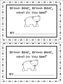 image about Brown Bear Brown Bear Printable Book known as Brown Go through, Brown Go through, What Do By yourself Perspective? Freebie (Scholar Guide)