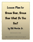 Brown Bear Brown Bear What Do You See Lesson Plan