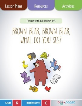 Brown Bear, Brown Bear, What Do You See? Lesson Plans & Activities Package