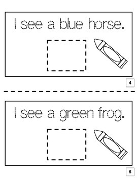 Brown Bear, Brown Bear, What Do You See? Printable Book Activity