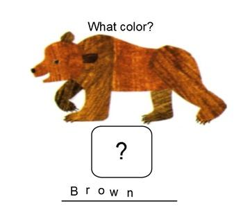 Brown Bear, Brown Bear, What Do You See? SMARTbaord