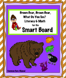 """Brown Bear, Brown Bear, What Do You See?"" Smart Board Unit"