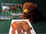 Brown Bear, Brown Bear, What Do You See?  Story Bag