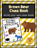 Brown Bear, Brown Bear What Do You See? (Write an Original