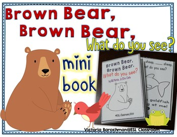 photo regarding Brown Bear Brown Bear What Do You See Printable Book identify Brown Undergo, Brown Undergo, What Do Your self Watch? - mini guide