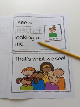 Brown Bear, Brown Bear, What do you See? Visuals and sequencing book activity