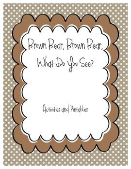 Brown Bear, Brown Bear activities
