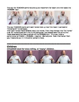 Brown Bear Brown Bear in Sign Language