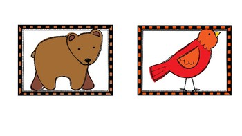 Brown Bear, Brown Bear lets sort our colors!