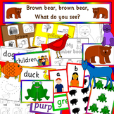 Brown Bear, Brown Bear story activity pack- colours