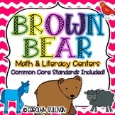Brown Bear Brown Bear with Common Core Standards Included!