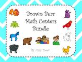 Brown Bear Bundle: Math Centers