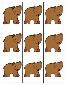 Brown Bear Card Game