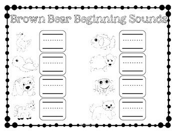 Brown Bear Centers {Back to School}